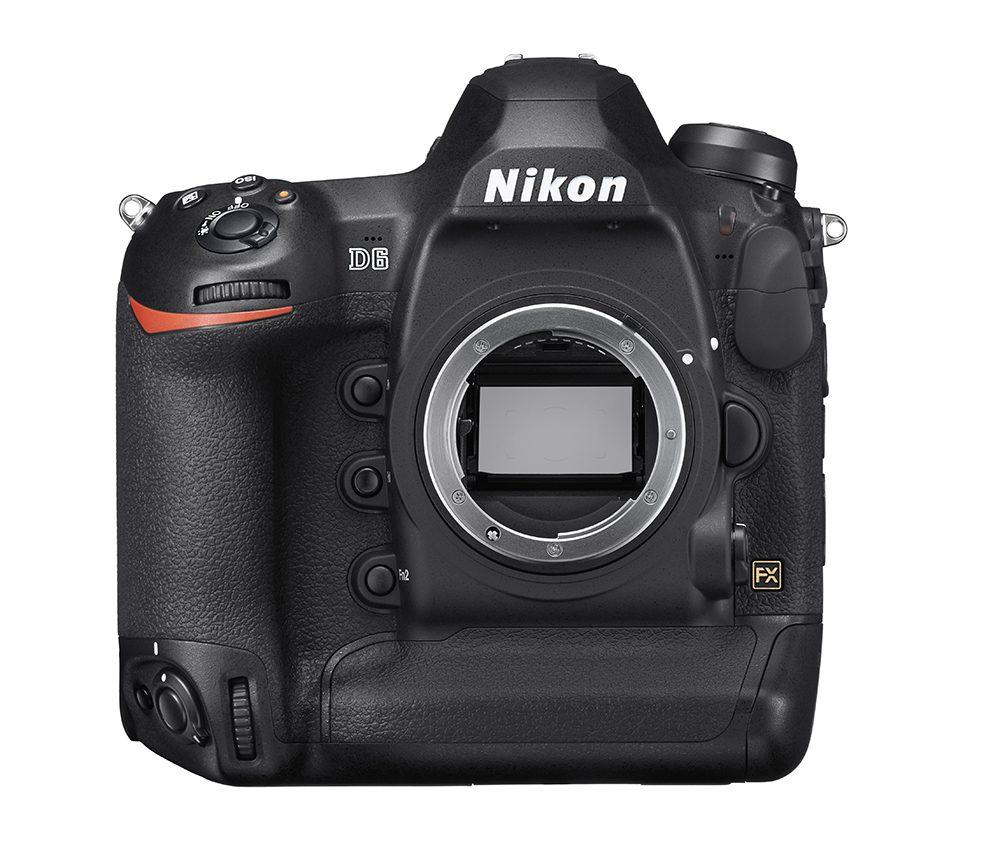 Nikon D6 front sensor