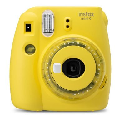 Fujifilm Instax Mini 9 Clear Yellow front