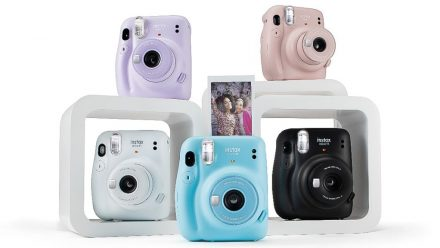Read Instax Mini 11 Instant Camera Adds auto-Exposure and Simple Selfie Shooting