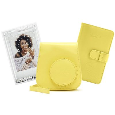 Fujifilm instax Mini 9 Accessory Kit in Clear Yellow