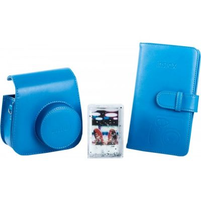 Fujifilm instax Mini 9 Accessory Kit in Cobalt Blue
