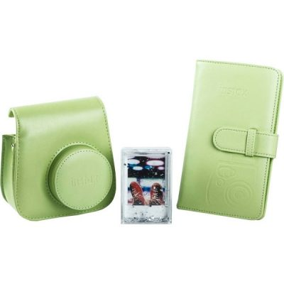 Fujifilm instax Mini 9 Accessory Kit in Lime Green