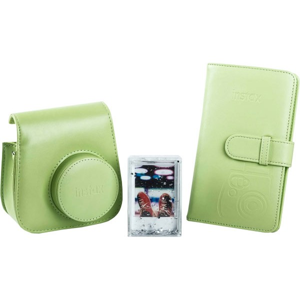 Fujifilm instax Mini 9 Accessory Kit in Lime Green
