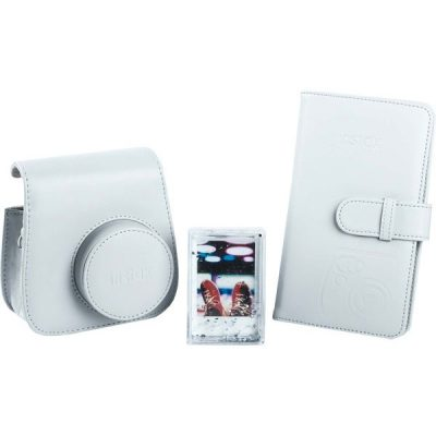 Fujifilm instax Mini 9 Accessory Kit in Smokey White