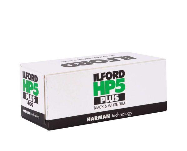 Ilford HP5 Plus Film 120 B&W ISO 400 pack shot 2