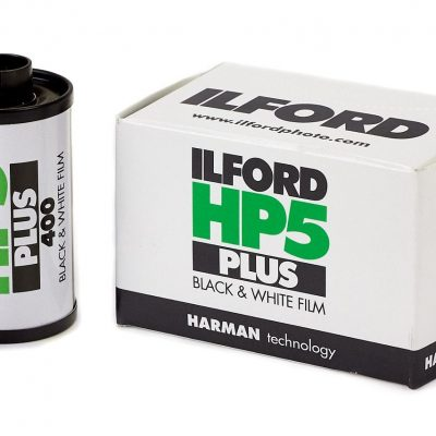 Ilford HP5 Plus ISO 400 36 Exposures Pack shot