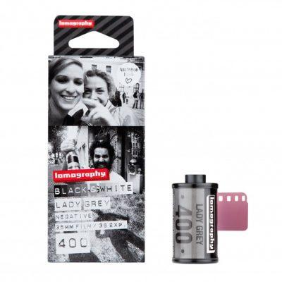 Lady Grey B&W 35 mm ISO 400 3 Rolls pack shot 3
