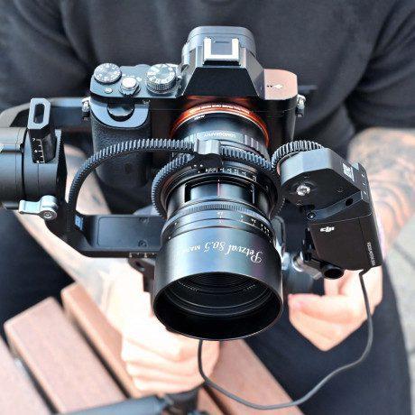 PhotoBite - Lomography's New Petzval 80.5 mm f/1.9 MKII SLR Art Lens Launches on Kickstarter.