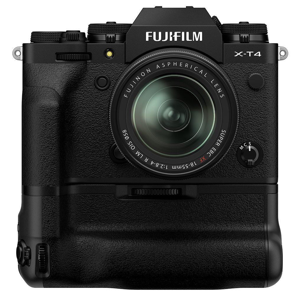 Fujifilm -T4 with grip