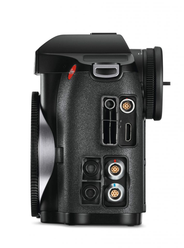 Leica S3 left side terminals