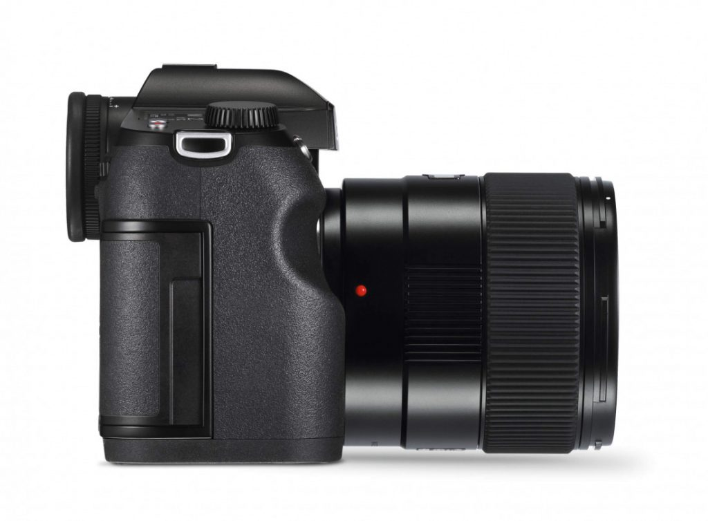 Leica S3 right side with lens