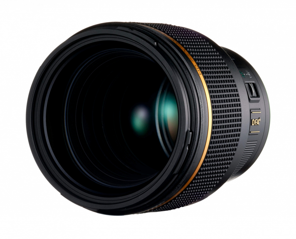 HD PENTAX-D FA★85mmF1.4 SDM AW front side