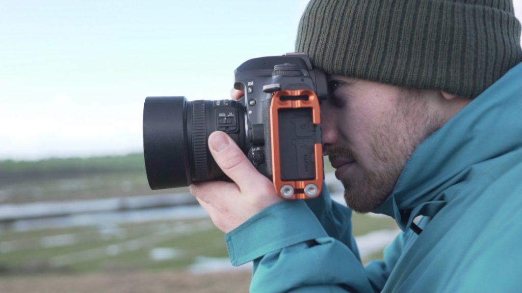 Nikon D780 in use