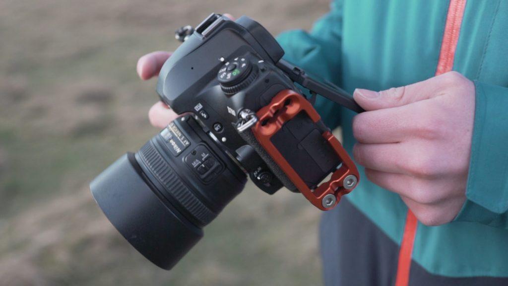 Nikon D780 flip screen