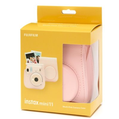 Fujifilm instax Mini 11 Case in Blush Pink box