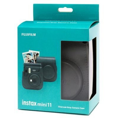 Fujifilm instax Mini 11 Case in Charcoal Grey box