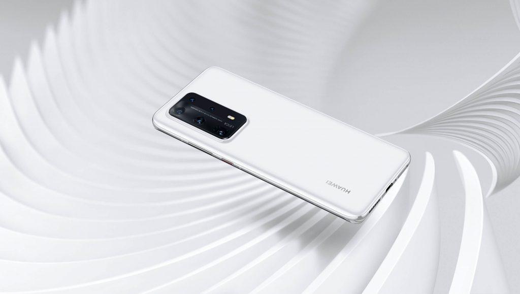 P40 Pro+ white
