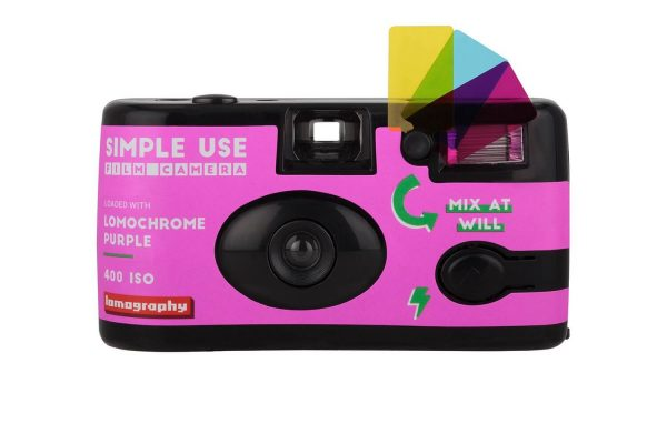 Simple Use Film Camera Lomochrome Purple camera