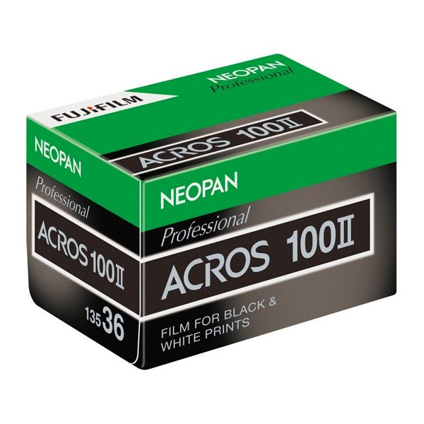 Fujifilm Neopan Acros II box
