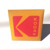 Kodak pin badge front