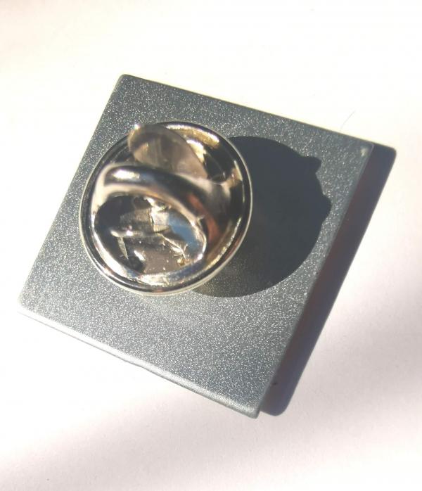 Kodak pin badge back