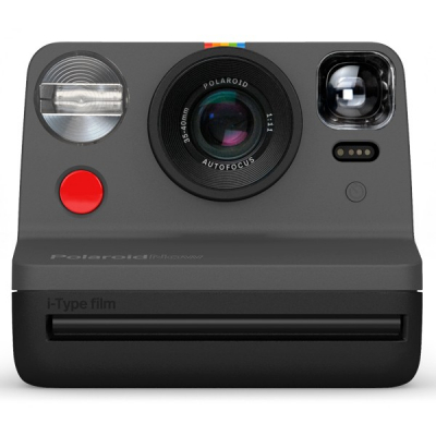 Polaroid Now Black front