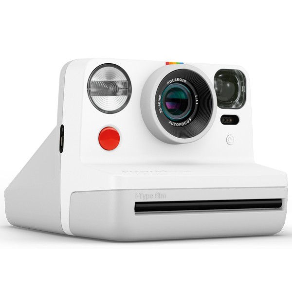 Polaroid Now White side