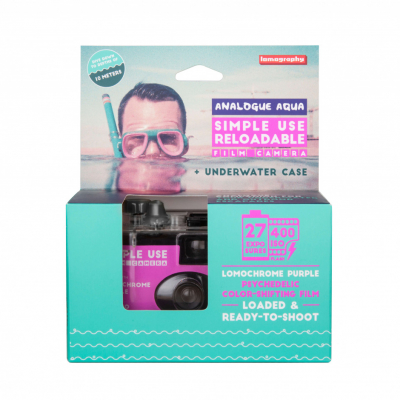Lomography Underwater Case Purple Box