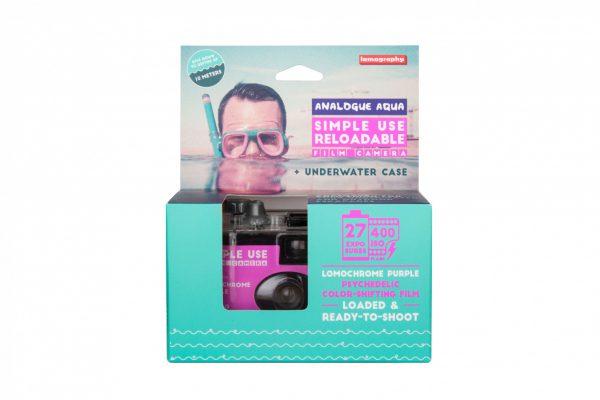 Lomography Underwater Case Purple Box