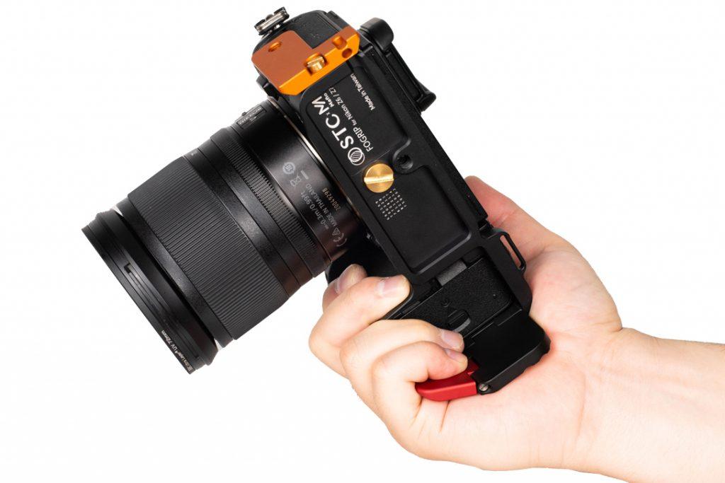 STC FoGrip Nikon Z 6 & Nikon Z 7 in hand
