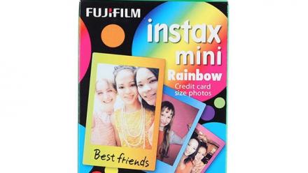 Read Fujifilm instax mini Film Rainbow