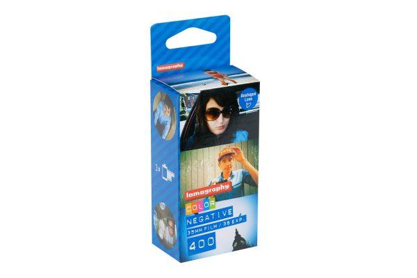 Lomography Colour Negative 400 ISO 35 mm box 1