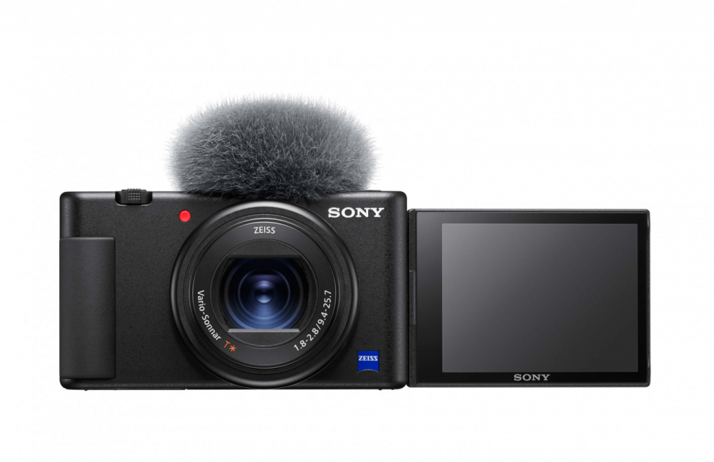 Sony ZV-1 front square