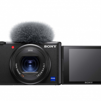 PhotoBite - Sony Reveals New ZV-1 and FDR-AX43 Compact 4K Handycam® Vlog-Tastic Cameras