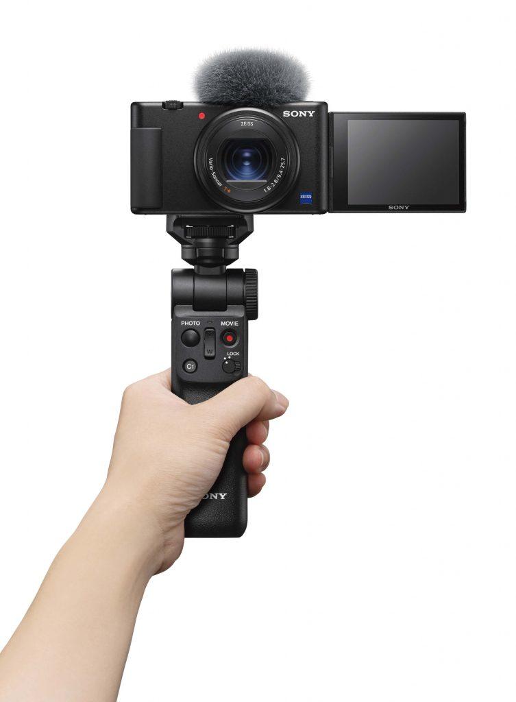 Sony ZV-1 with mini tripod