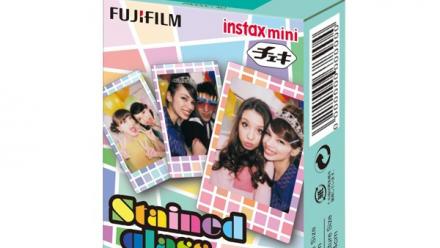 Read Fujifilm instax mini Film Stained Glass