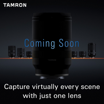 PhotoBite - Tamron Teases New 'All-Rounder' Lens: Video
