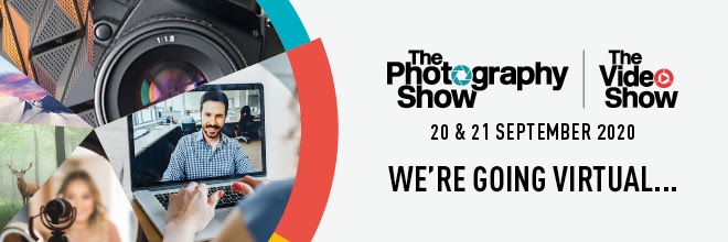 The Photography Show 2020 banner