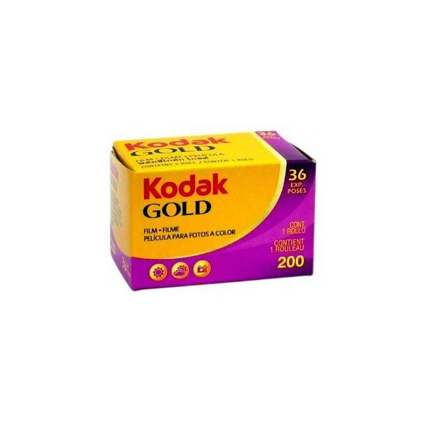 Kodak Gold 200 box