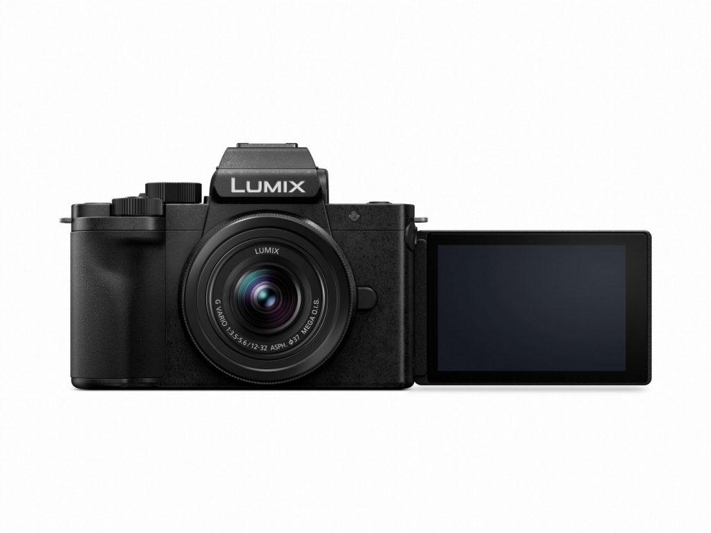 Panasonic LUMIX G100 1232 Kit (G100KEB-K) front LCD