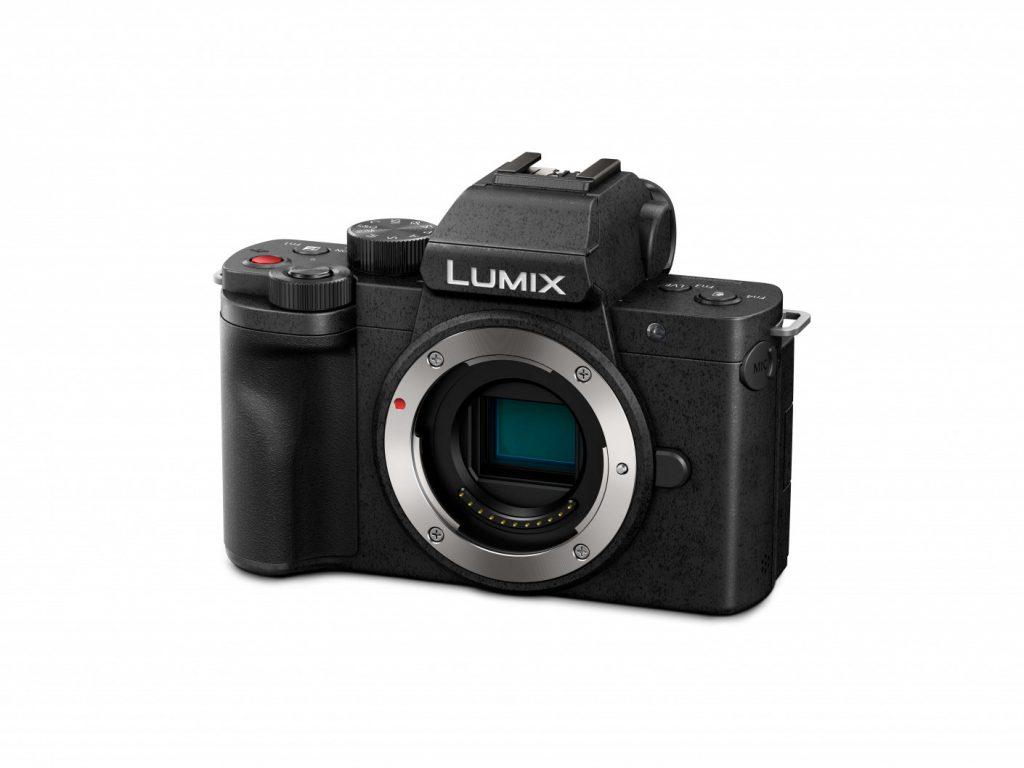 Panasonic LUMIX G100 body (G100EB-K) slant