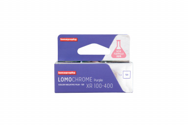 lomochrome purple 120 packaging