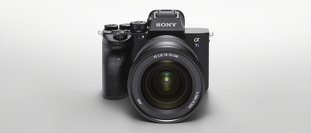Sony a7S III front top