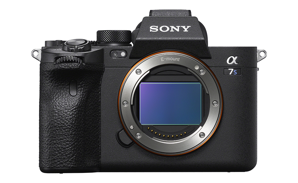 Sony a7S III front sensor