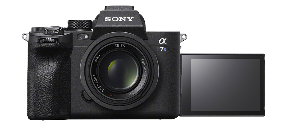 Sony a7S III front screen