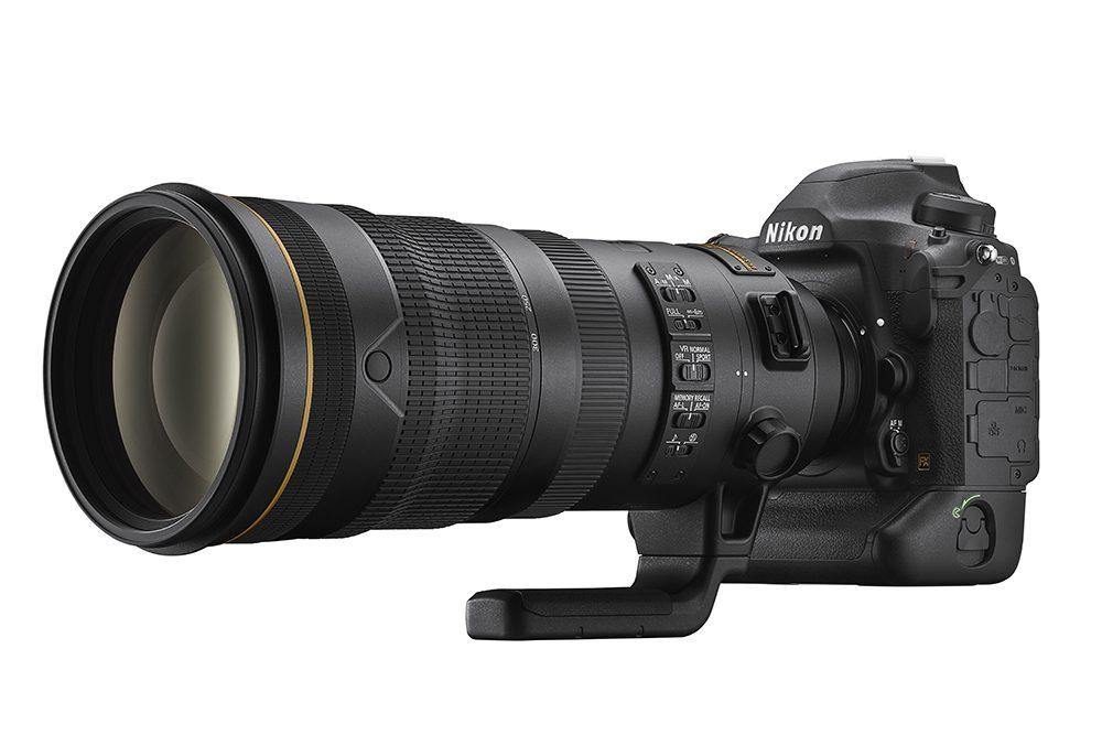 Nikon D6 with telephoto