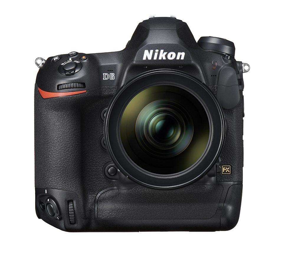 Nikon D6 front