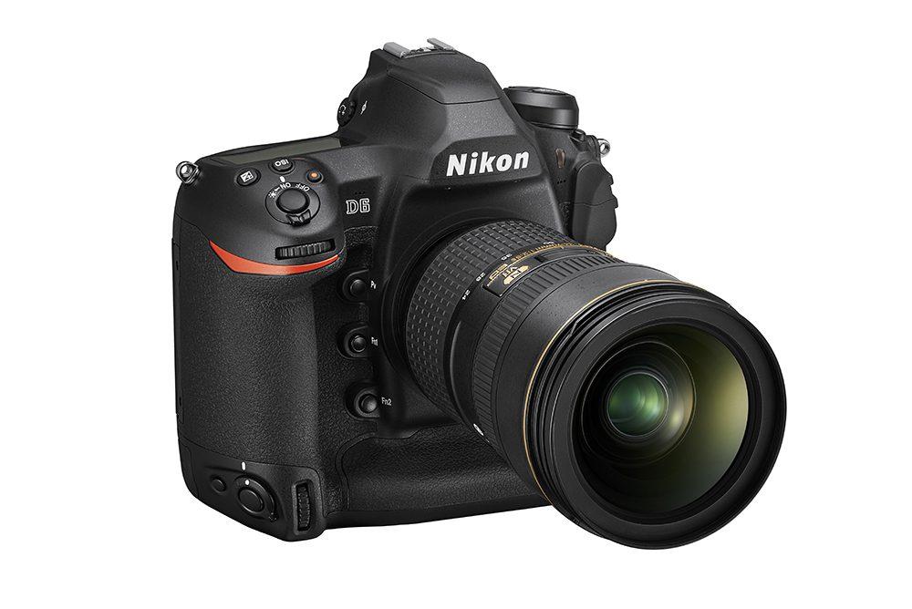 Nikon D6 front right