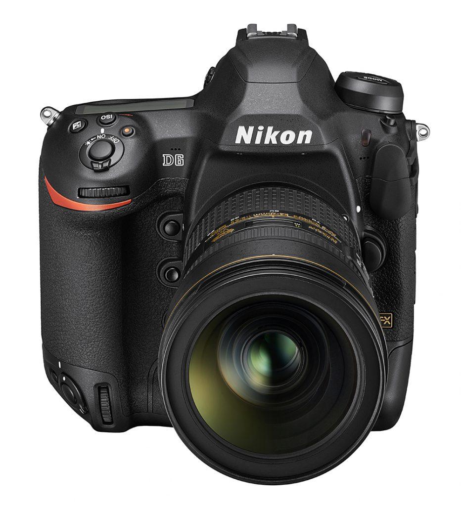 Nikon D6 front high