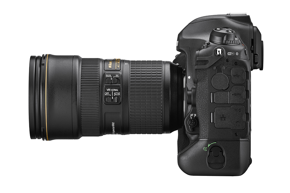 Nikon D6 left hand